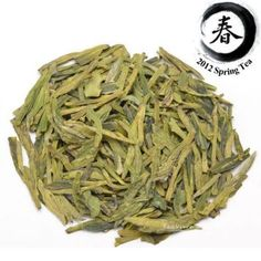 Premium Dragon Well Green Tea (Long Jing): XiHu (West Lake) Dragon Well green tea, or Long Jing as it is known in China, is commonly regarded as one of China's top ten teas, and is often served to visiting head's of states. This Long Jing tea is an absolutely fantastic example of this tea. Mostly handmade it has no hint of bitterness, instead it has a delightfully subtle classic green tea taste and aromatic scent.