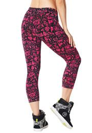 City Swag Perfect Capri Leggings | Zumba Wear