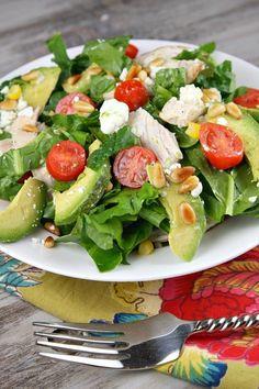 Spinach Salad With Chicken, Spinach Salad Recipes, Salad Recipes Video, Salad Recipes For Dinner, Spinach Stuffed Chicken, Chicken Salad Recipes, Healthy Salad Recipes, Salad Chicken, Healthy Chicken