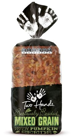Two Hands Bread | Shout Design for George Weston Foods (OP Polina Sapershteyn)