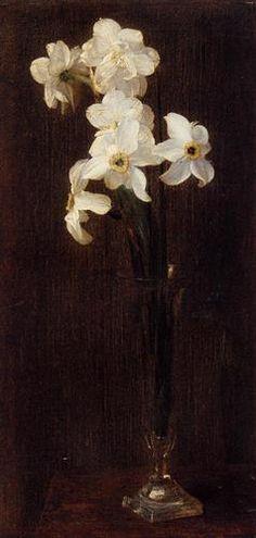 Henri Fantin Latour (1836 - 1904)  - Narcisses