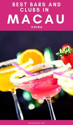 Macau Nightlife - 20 Cool Bars and Clubs. Macau does a lot of things well and it does drinking very well indeed. #macau #china #coolbars #clubs #asia #nightlife