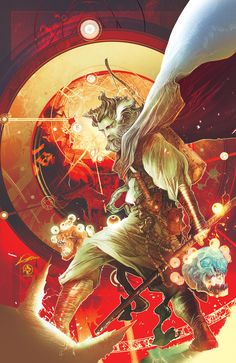 Doctor Strange by Alexander Lozano (pencils) & Leonardo Colapietro (colors and graphics) Marvel Doctor Strange, Dr Strange, Comic Book Characters, Marvel Characters, Fantasy Characters, Comic Books, Marvel Comics Art, Fun Comics, Science Fiction