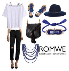"""ROMWE Contest"" by erinakruger on Polyvore featuring Arizona, Dorothy Perkins, Chloé, rag & bone and Shourouk"
