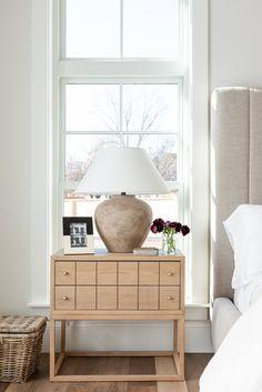 Master Bedroom, Bedroom Decor, Bedroom Ideas, Bedroom Inspiration, Bedroom Furniture, Dresser As Nightstand, Nightstands, Nightstand Ideas, Studio Mcgee