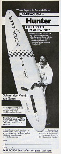 BARRACUDA windsurfing 1982 - Werner Bagyura