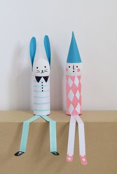 5 Fun Easter Crafts http://petitandsmall.com/5-fun-easter-crafts/