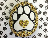 Puppy Paw Stone (Medium)