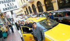 Entrega de credenciales a 120 mil taxistas formales de Lima empezará en la segunda quincena de mayo