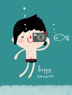 Happy summer - Maria Maldonado