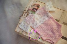 Newborn pastel romper. It's my work. MiLena Handmade Props