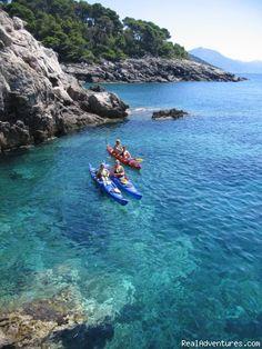 Crystal Clear Adriatic: Kayaking Dubrovnik archipelago - shore excursions: dalmatia croatia kayaking & canoeing dubrovnik