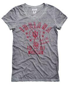 Indiana Hoosiers Basketball Women's T-Shirt