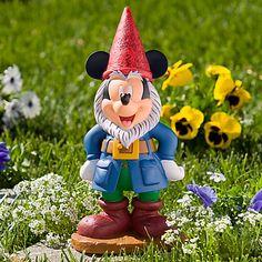 mickey mouse garden gnome.
