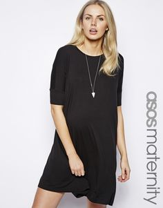 ASOS Maternity T-Shirt Dress With Short Sleeves