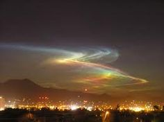 Aurora Borealis seen in Tucson, AZ! I saw this one with my own eyes! It was beautiful!