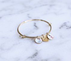 YOU MUST have one of these adorable photo charm bracelets! Customize with multiple photo charms and hand stamped charms. SO CUTE!