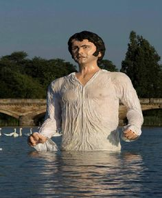 Mr. Darcy-Bizarre Statues Created From Your Nightmares