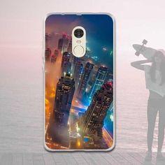 Case for Funda Xiaomi Redmi Note 4 TPU Soft Mobile Phone Cases Silicon Phone Cover for Xiaomi Redmi Note 4 Coque Pattern