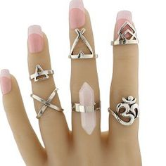SHARE & Get it FREE | Geometric Natural Stone Heart Ring SetFor Fashion Lovers only:80,000+ Items • New Arrivals Daily • Affordable Casual to Chic for Every Occasion Join Sammydress: Get YOUR $50 NOW!
