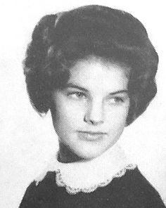 Priscilla Beaulieu, photographed in the 1960 United States Air Forces Overseas High School Yearbook. Description from prettypriscillapresley.tumblr.com. I searched for this on bing.com/images
