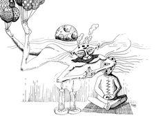 Sueño - Dream - Federico Abuyé: Ilustración, comic, Illustration, design