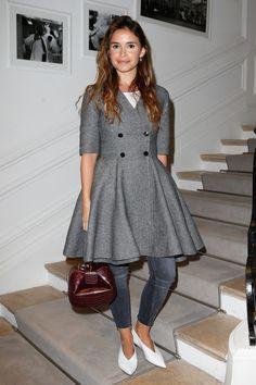 Miroslava Duma au premier rang du défilé Dior