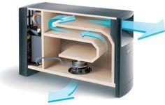 Bose® Acoustimass® 6 Series III home entertainment speaker system Subwoofer cutaway shot
