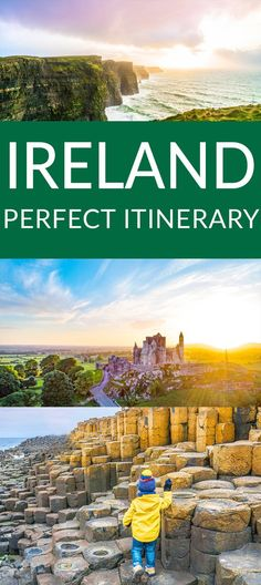 The Perfect Ireland Itinerary : What to do in Ireland. The Perfect Ireland Itinerary for the first time visitor to Ireland. Places To Travel, Travel Destinations, Places To Visit, Travel Tips, Travel Ideas, Budget Travel, Travel Articles, Travel Planner, Travel Hacks