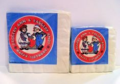 Vintage Raggedy Ann & Andy 2 packs Party Napkins BIRTHDAY Beverage & Luncheon Raggedy Ann And Andy, Party Napkins, Party Packs, Best Part Of Me, Beverage, Party Ideas, Invitations, Dolls, Birthday