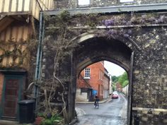 Winchester, England,where Jane Austen lived the last year of her life to be near her doctor.
