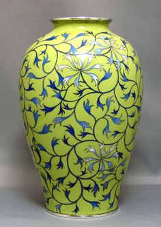 Very nice Japanese Cloisonne Vase by Ando.