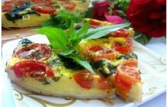 Fresh Mozzarella and Tomatoes With Roasted Garlic Fresh Mozzarella, How To Make Breakfast, Roasted Garlic, Caprese Salad, Vegetable Pizza, Spinach, Healthy Recipes, Cooking, Tomatoes