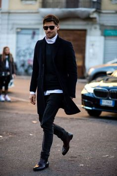 Johannes huebl - january 2017 mens clothing uk, stylish mens outfits, men s Street Style Outfits Men, Men Street Look, Stylish Mens Outfits, Modern Mens Fashion, Men's Fashion, Milan Fashion, Fashion Styles, Street Fashion, Fashion Trends