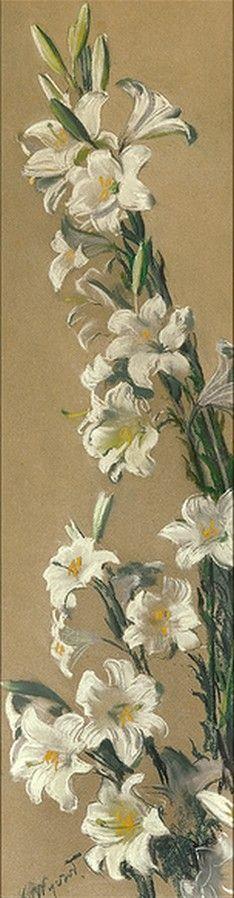 Leon Wyczólkowski (1852-1936) — Lilie (234x898)