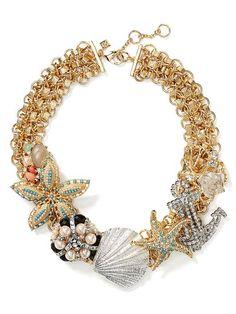 Sea Life Focal Necklace