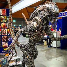 @urbanangel Mechanical Alien