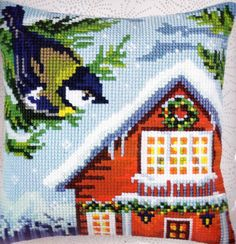 Collection D'Art Before Christmas Cross Stitch Needlepoint 16