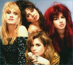 The Bangles - popular '80s girl band