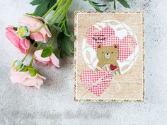 Houses Built of Cards: Make My Heart Happy - Simon Says Stamp Storybook Bear