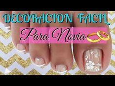 Toe Nail Art, Toe Nails, Cute Pedicure Designs, Cute Pedicures, Pretty Designs, Manicure And Pedicure, Youtube, Google, Toenails