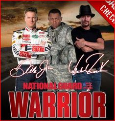 KID ROCK AND DALE JR. SAY Y'ALL SHOULD JOIN THE NATIONAL GUARD