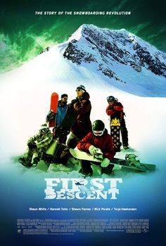 First Descent , starring Shawn Farmer, Terje Haakonsen, Nick Perata, Shaun White. Five of the world's best snowboarders are taken to the mountains of Alaska for some outrageous 'Big Mountain' rides. #Documentary #Sport