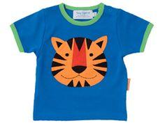 Toby Tiger Kurzarm T-Shirt mit Tiger