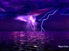 Stormy Purple