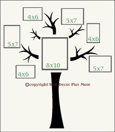 Decorating with Wall Vinyl: Family Tree Wall Sticker