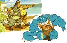 Marvel Cartoon Movies, Donkey Kong Country, Furry Art, Deviantart, Super Heros, Drawings, Nintendo, Fun, Fictional Characters
