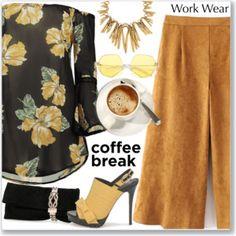 Floral Off The Shoulder Blouse :: Work Wear