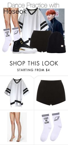 """Dance Practice with Hoseok"" by pezzieshampoo ❤ liked on Polyvore featuring Proenza Schouler, Boohoo, Yeah Bunny and Barts"