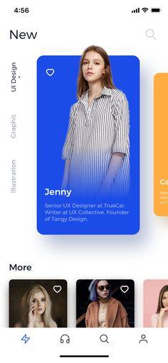 UI Audio Program on Inspirationde - Entwurf Mobile Ui Design, App Ui Design, User Interface Design, Ui Design Tutorial, Web Design Studio, Web Design Projects, Mobile App Ui, Ui Design Inspiration, Layout
